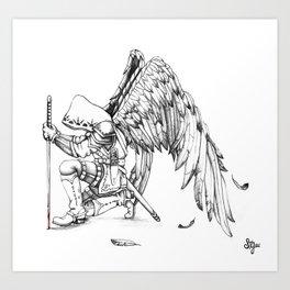 ArchAngel Warrior Art Print