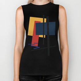 Tribute to K. Malevich (n.1) Biker Tank