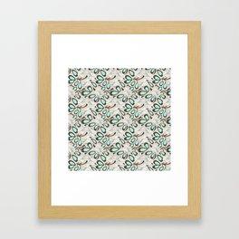 Cactus Bloom Framed Art Print