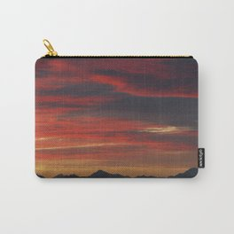 Pink sunset Carry-All Pouch