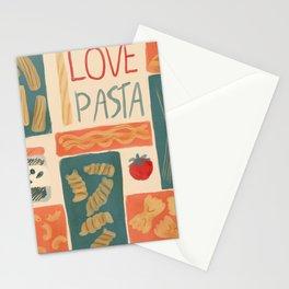 I love pasta Stationery Cards