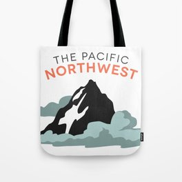 Mountains and Clouds: The Pacific Northwest Tote Bag