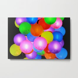 Ballons Metal Print