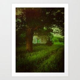 Emerald Abode Art Print