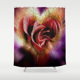 Red Rose for You Shower Curtain