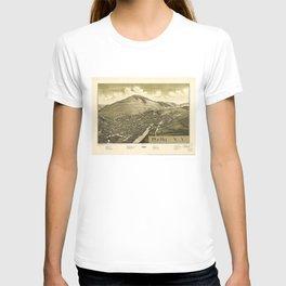Aerial View of Delhi, New York (1887) T-shirt