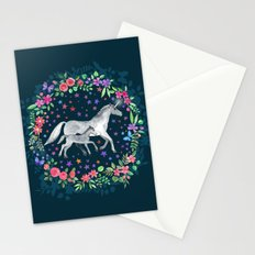 Mama and Baby Unicorn Stationery Cards