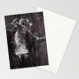 Michael MJ - Jackson, Impressionism, Poster, Music, Art Print. Pop Culture Home decor, Dorm Decor Stationery Cards