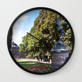 Le Jardin Luxembourg Wall Clock