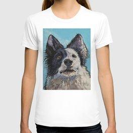 Border Collie Portrait T-shirt