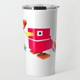 Duck Royale 3D - Game Paused Design Travel Mug