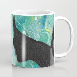 Midnight Mermaid Silhouette Art Coffee Mug