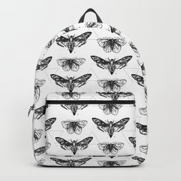 Geometric Moths Backpack