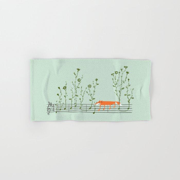 Happy Tune Hand & Bath Towel