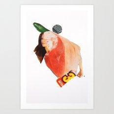 Normal Life · Aktion Fleisch Art Print