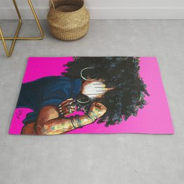 Naturally the Riveter PINK  Rug