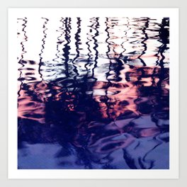 Reflection of the Sunset Art Print