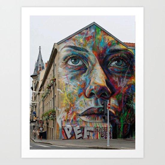 art face Art Print