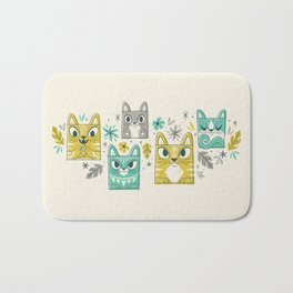 Tiki Kitty Bath Mat
