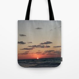 Sunset Northern coast egypt 2 Tote Bag