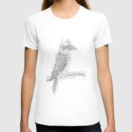 ASCII Kookaburra T-shirt