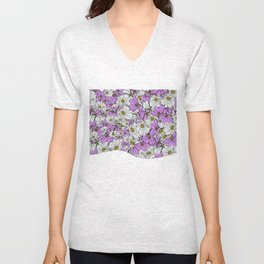 Bouquet Toss Unisex V-Neck