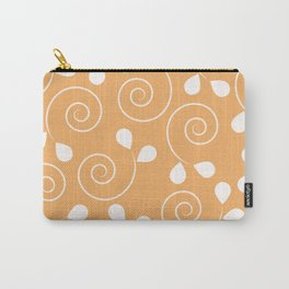 Early Spring Sun Orange Pattern Carry-All Pouch