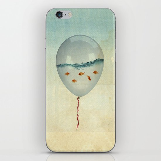 balloon fish iPhone & iPod Skin