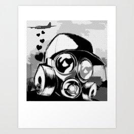 Luv Is In the Air... Art Print