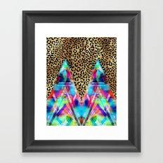 Leopard Prism {A} Framed Art Print