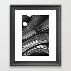 Motorentechnik Framed Art Print