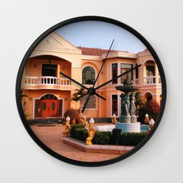 Manor House Wall Clock
