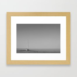 Set Sail, Calm Seas Ahead Framed Art Print