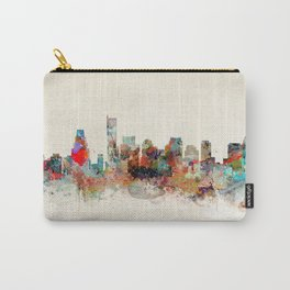 boston city skyline Carry-All Pouch