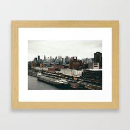 Molson Montreal Framed Art Print