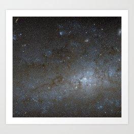 Spiral Galaxy NGC 247 Art Print