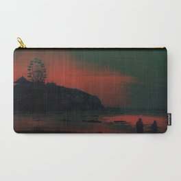 Carnival at the Beach Bathed by the Red Sunset Carry-All Pouch