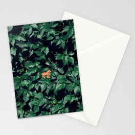 Orange horse in the bush Stationery Cards