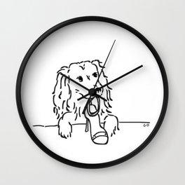 City Dogs {Shoe Diva} Wall Clock