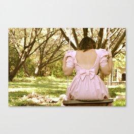 Beautiful Swing Canvas Print