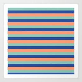 Just Stripes Art Print