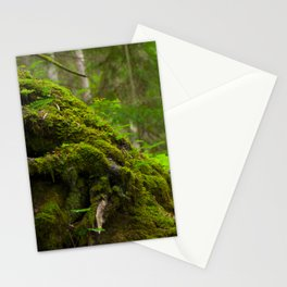 mossy roots Stationery Cards