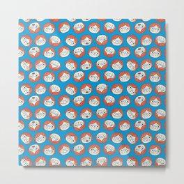Pattern Project #13 / Mood Swings Metal Print