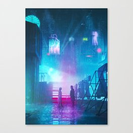 BLADE RUNNER Painting Poster | PRINTS | Blade Runner 2049 | #M6 Canvas Print