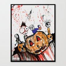The Halloween Children Canvas Print