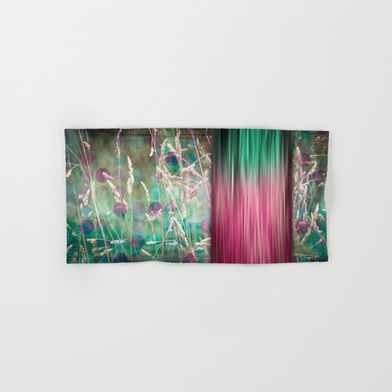The Sound of Light and Color - Herbage Hand & Bath Towel