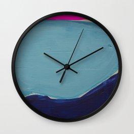Colour Fields 2 Wall Clock
