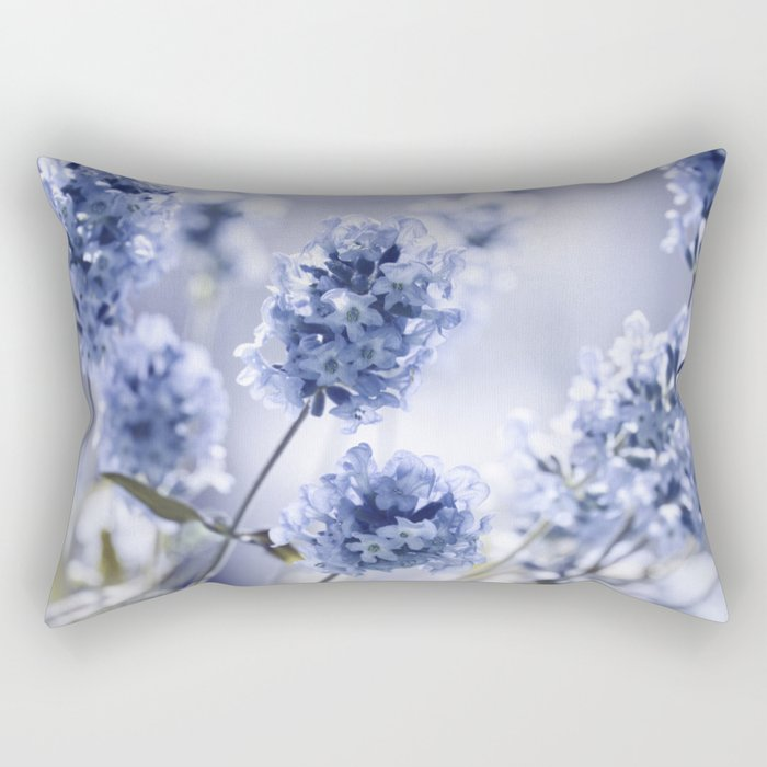 Lavender Blue 87 Rectangular Pillow