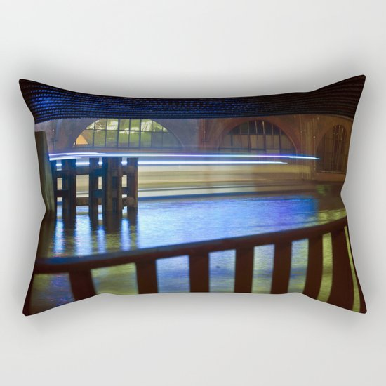 FLOATING LIGHTS Rectangular Pillow