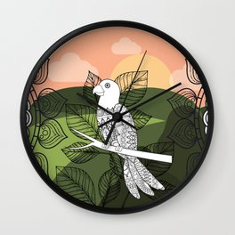 Communicativeness Wall Clock
